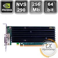 Видеокарта Quadro NVS290 (256Mb/DDR2/64bit/DMS-59) LP БУ