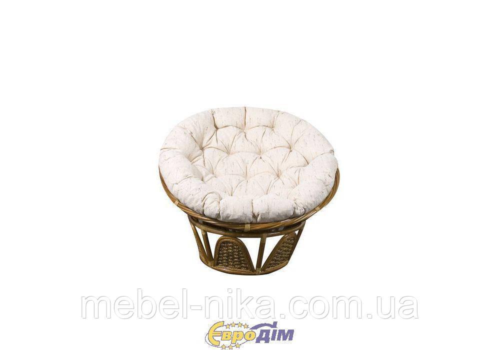 Кресло Папасан с подушкой ротанг 20Т