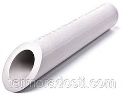 Труба полипропиленовая SPK PN20 (25х4,2 мм) белая