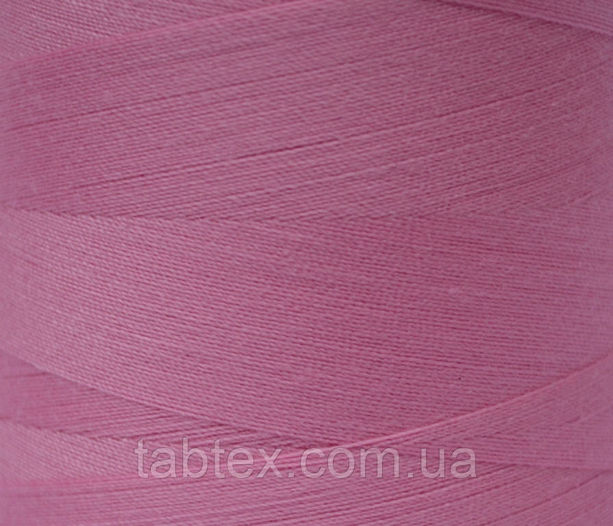 """Швейные нитки №40/2 """"LG"""" D173 4000 ярд розовый"""
