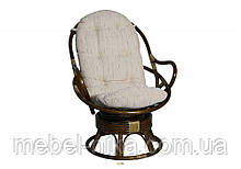 Крісло обертове 0501 ротанг