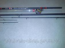Фидерное удилище Winner V8  30-180g карбон im-8   3 метра, фото 3