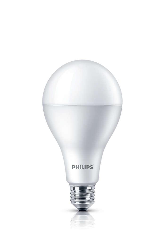 Светодиодные LED лампы PHILIPS 27Вт А110 Е27 Холодный белый 65000К