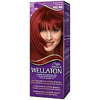 Крем-краска для волос стойкая WELLATON 66/46 Красная вишня