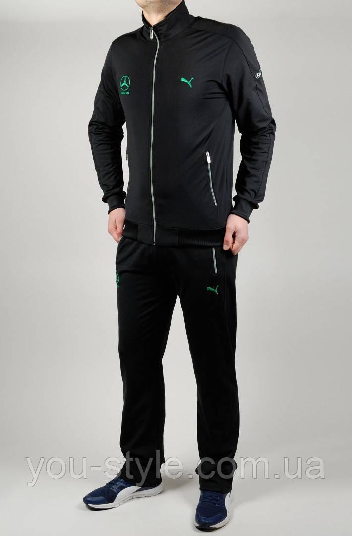 72374d90 мужской спортивный костюм Puma Mercedes 4759 чёрный продажа цена в
