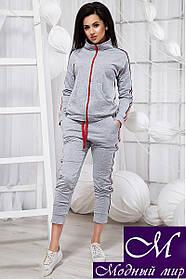 Женский спортивный костюм с укороченными штанами (р. S, M, L, XL) арт. 20171