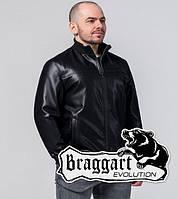 Куртка больших размеров 1798-1 чёрный р. 60 62 64