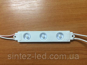 Светодиодный модуль линзованный SMD2835 2W 220V белый IP65 Код.59155