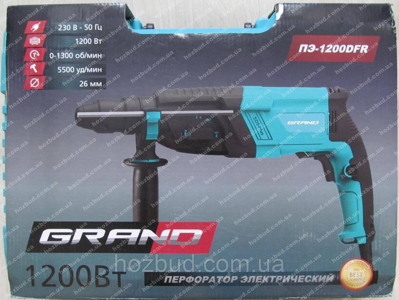 Перфоратор Grand ПЭ-1200 DFR