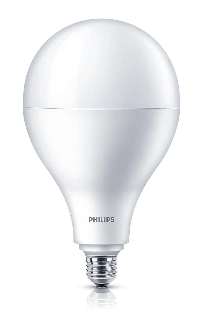 Светодиодная LED лампа PHILIPS 33Вт А110 Е27 Холодный белый 6500К