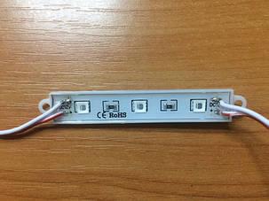 Светодиодный модуль SMD 5054 3 светодиода 120* красный IP65 Код.58688, фото 2