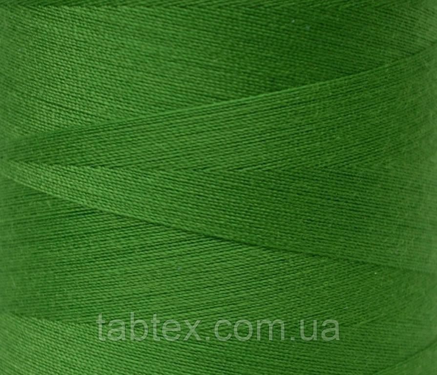 """Швейные нитки №40/2 """"LG"""" D223 4000 ярд трава"""