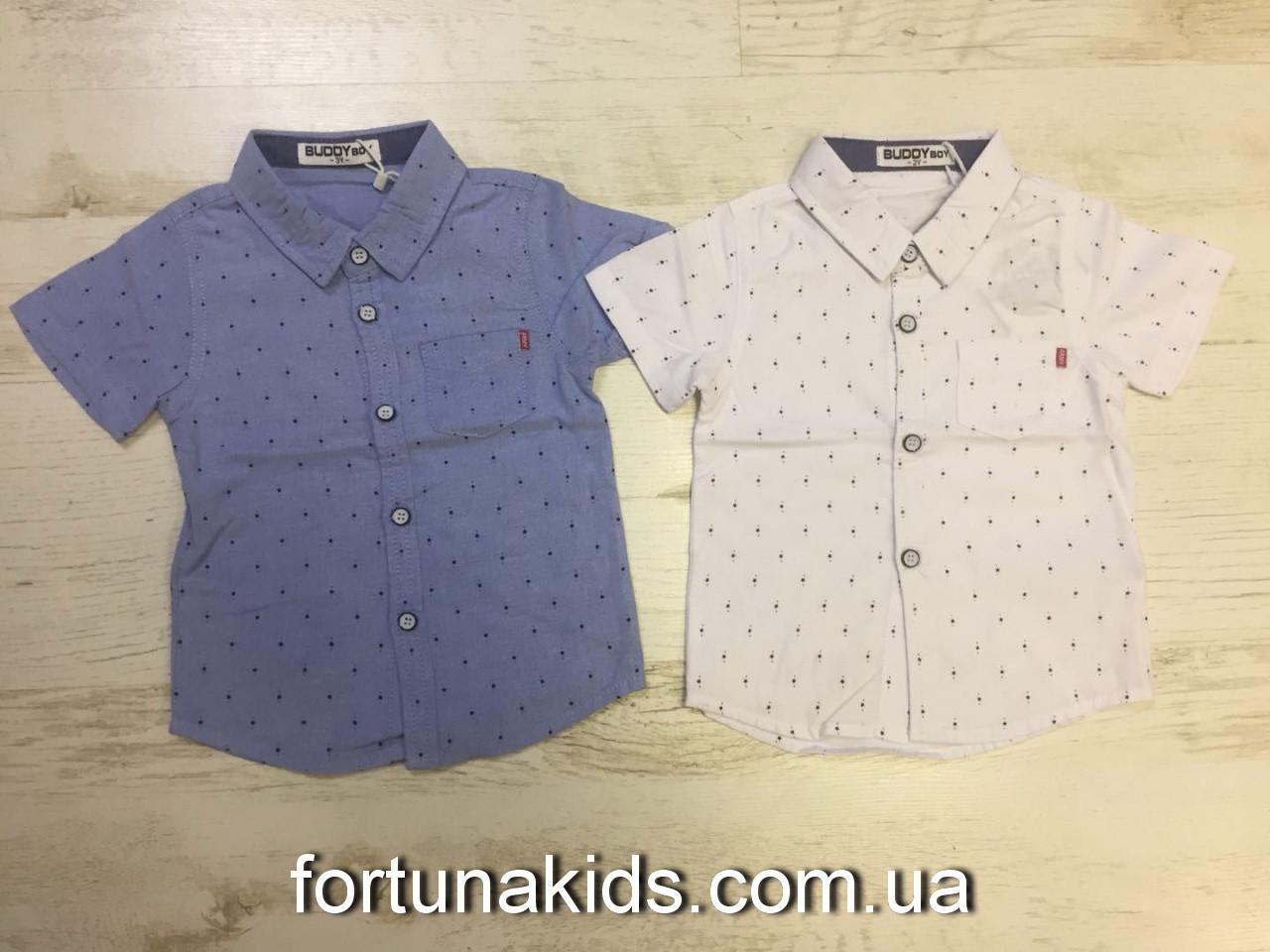 Рубашки для мальчиков Buddy Boy 1-5 лет