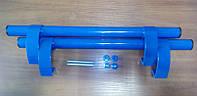 Ручка дверная прямая 500 мм, синяя, RAL 5005., фото 1
