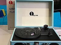 Vintage turntable 1byone проигрователь