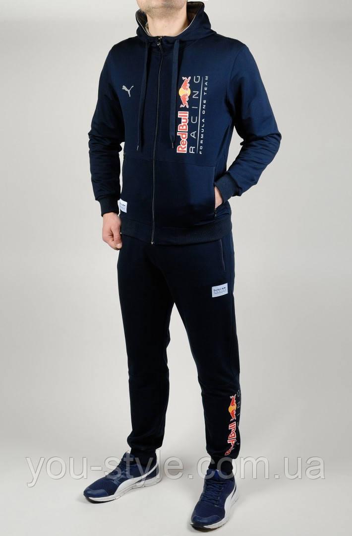 beeddcd678be65 Мужской спортивный костюм PUMA RED BULL 4775 Тёмно-синий: продажа ...