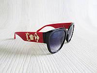 Стильный женские очки копия Версаче