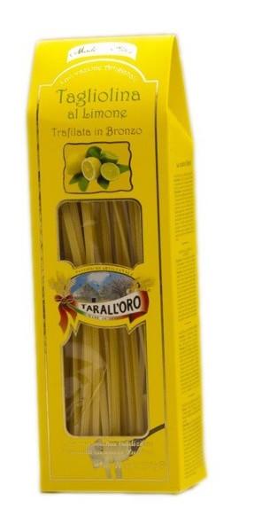Спагетти с лимоном Tagliolina al Limone «Tarall'Oro», 250 гр.