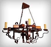 Люстра подвесная 0405 Восьмигранник свеча