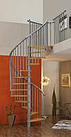 Винтовая лестница MINKA SPIRAL Effect Ø140см серебро Австрия