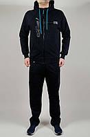 Мужской спортивный костюм Puma Mercedes 4786 Тёмно-серый