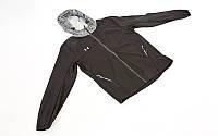 Ветровка ветрозащитная спортивная куртка Under Armour  (р-р L-XXL-48-54, черный)
