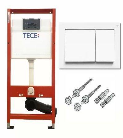TECEbase  Комплект інсталяції для унітазу  (модуль+клавіша TECEbase 9240700  біла+кріплення)