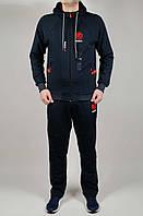 Чоловічий спортивний костюм REEBOK FIGHTING 4791 Темно-сірий