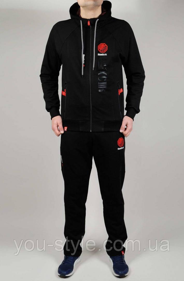Мужской спортивный костюм REEBOK FIGHTING 4792 Чёрный