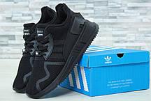 Мужские кроссовки Adidas EQT 544 черные топ реплика, фото 3