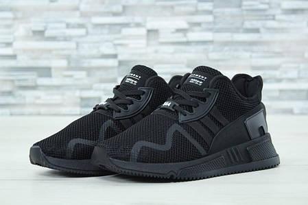 Мужские кроссовки Adidas EQT 544 черные топ реплика, фото 2