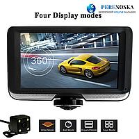 Видеорегистратор DVR K8/ Поворот на 360 ° + камера заднего вида/ И сенсорный экран