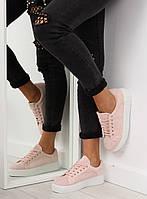 Розовые женские криперсы AX02 40,39,38