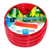 Шланг 3/4 Soft Export красный (20 метров) Evci Plastik