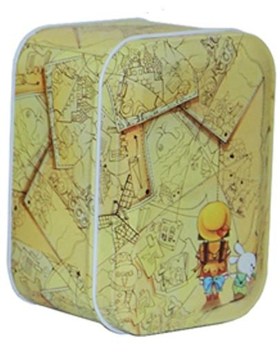 Железная коробочка для сыпучих Ностальжи Приключение, 100г ( кухонный контейнер )