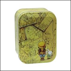 Железная коробочка для сыпучих Ностальжи Приключение, 100г ( кухонный контейнер ), фото 2