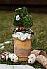 Паска классическая с белковой глазурью и пряничным декором Пасха