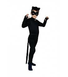 Детский карнавальный костюм СУПЕР КОТ для мальчика 4,5,6,7,8 лет, детский новогодний костюм Герои в масках.