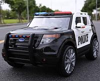 Электромобиль Джип для детей Police M 3259EBLR-1-2