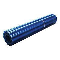 Шифер прозрачный Волнопласт гофрированный 1,5 x 15 м (голубой)