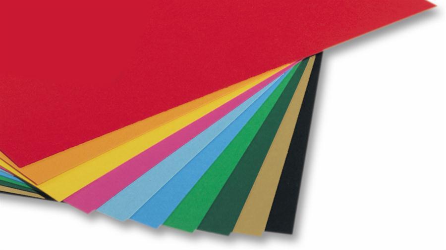 Бумага для дизайна В2 Folia Tintedpaper 50x70см №53 зеленый мох 130г/м без текстуры 4001868067538