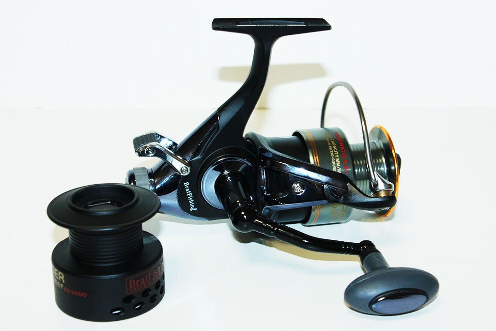 Катушка BratFishing Fighter (Истребитель) baitrunner RD 5000