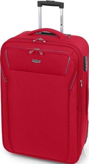 Тканевый 2-колесный чемодан Gabol Loira (M) Red 924999 58л, красный