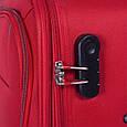 Тканевый 2-колесный чемодан Gabol Loira (M) Red 924999 58л, красный, фото 5
