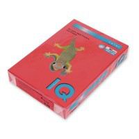 Бумага А4 IQ цветная насыщенная 80г/м2 500 листов CO44 красный A4.80.IQI.CO44.500