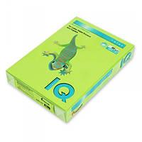 Бумага А4 IQ цветная насыщенная 80г/м2 500 листов LG46 зеленый A4.80.IQI.LG46.500