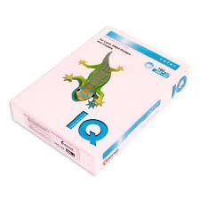 Бумага А4 IQ цветная пастельная IQ 80 500л OPI74 св.-розовый A4.80.IQP.OPI74.500