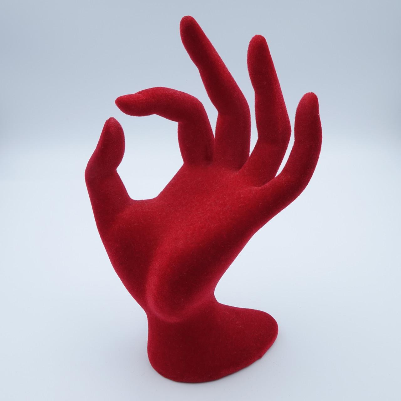 Рука красная 18 х 7 см
