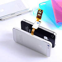 Шлейф адаптер на 2 SIM для Apple iPhone 4/4S/5/5S Double Dual SIM Card Adapter, фото 1