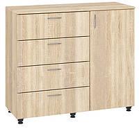 Комод К-4+1 (МДФ). Мебель для спальни, гостиной, детской